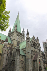 The Nidaros Cathedral in Trondheim