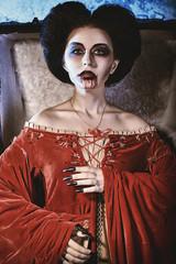 grave woman
