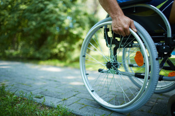 Wheelchair walk