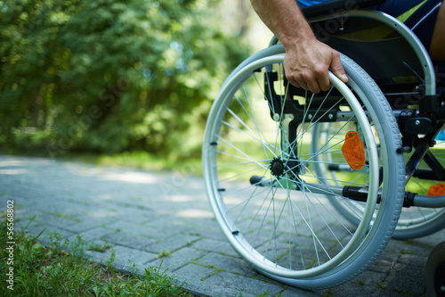 Wheelchair walk - 56568802
