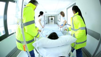 Paramedics Hospital Staff Child Patient Emergency