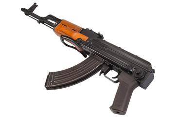ak47 airborn version assault rifle on white