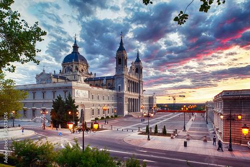 Foto Spatwand Madrid Catedral de La Almudena (Madrid)