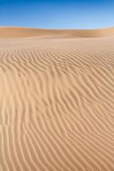 Sand dune of desert
