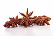 isolated star anise