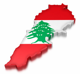 Lebanon (clipping path included)