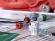 kit d' injection en consultation chez le médecin