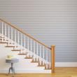 Stairway in modern house.