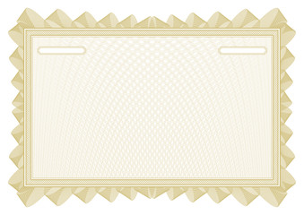 Certificate. Vector pattern currency and diplomas