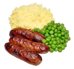Sausages And Mashed Potato