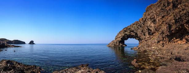 Arco dell'Elefante and Faraglioni , Pantelleria