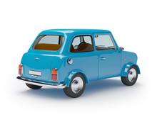 rétro mini voiture
