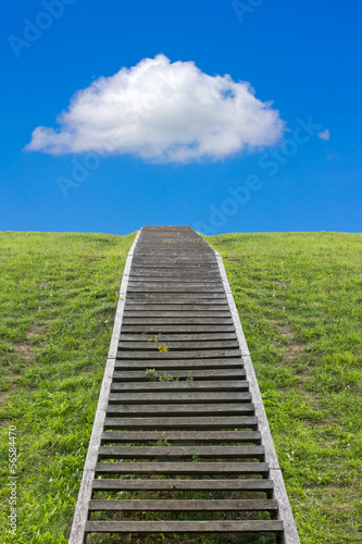 Staircase to the sky
