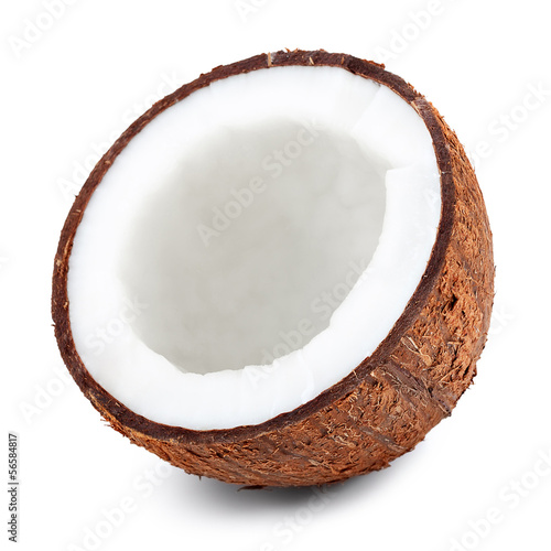 Half of coconut