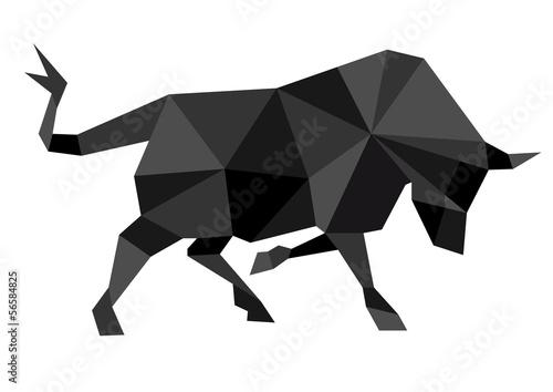Abstrakter Bulle