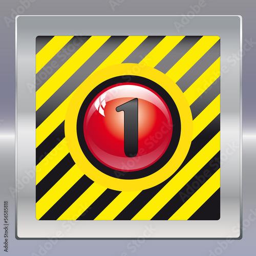 Alarm schwarz gelb rot 1