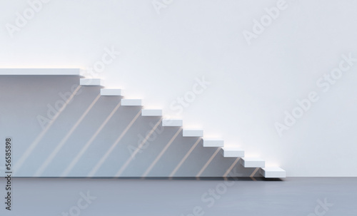 Foto op Canvas Trappen minimalism style stairs