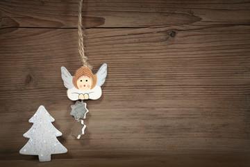 Tannenbaum und Engel