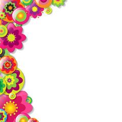 Colorfull Flowers Bolder