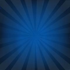 Dark Blue Background With Sunburst