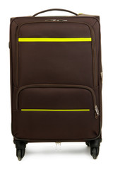 Suitcase isolated on white
