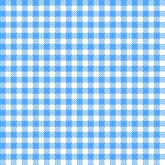 Bayrisches Rauten-Muster Weiß-Blau