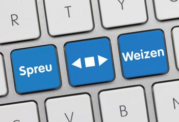 Spreu vom Weizen Tastatur
