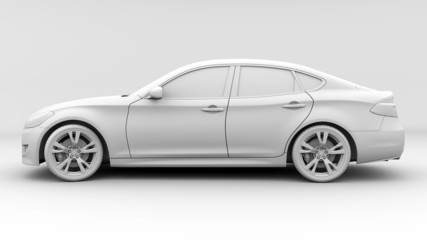 Ambient Occlusion Pass Limousine