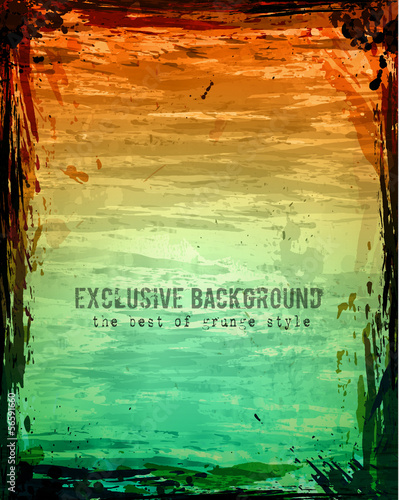 Grunge Abstract background sratched and worn