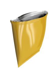 Open foil bag