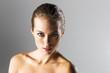 Brunette Studio Model