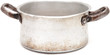 old aliminium pan