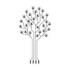 Vector community concept