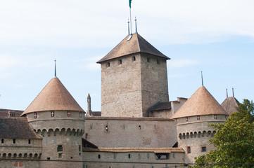 Замок на Швейцарской Ривьере