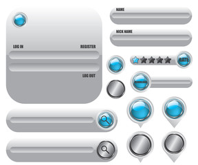 Web elements set icon