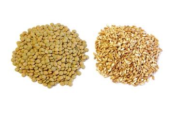 Lenticchie e farro - Green Lentils and Spelt
