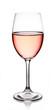 Glass of rose wine - 56595066