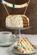 Vanilla Sprinkles Cake for Birthday Party