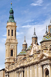 Cathedral The Pilar in Zaragoza, Spain