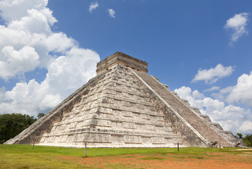 Chichen Itza pyramid at Mexico