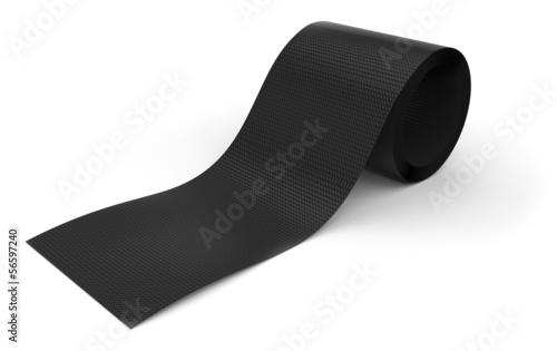 Roll of carbon fabric