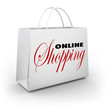 Online Shopping Bag e-Commerce Web Store