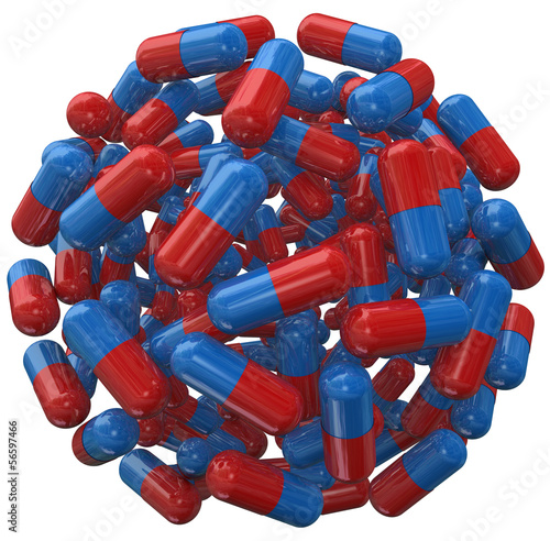 Capsule Pill Ball Prescription Medicine Sphere