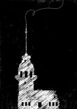 Maiden Tower Drawing