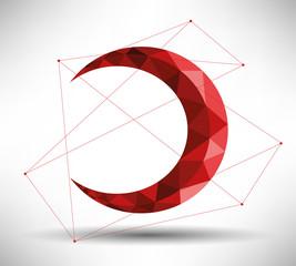 Modern Crescent Design