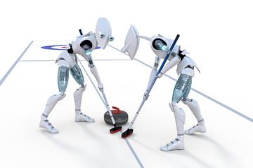 Robots Curling