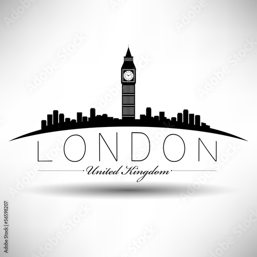 Modern London Skyline Design