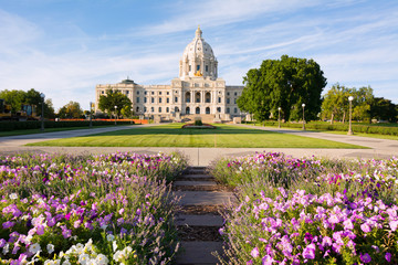 Minnesota Capital Garden