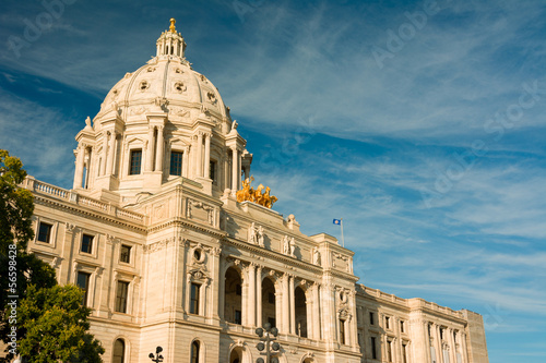 canvas print picture Minnesota Capital