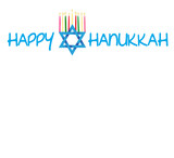 Star of David and Menorah for Hanukkah